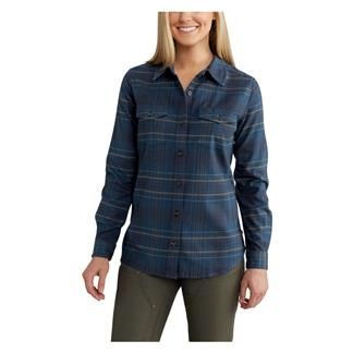 Carhartt Rugged Flex Hamilton Shirt Dark Stream