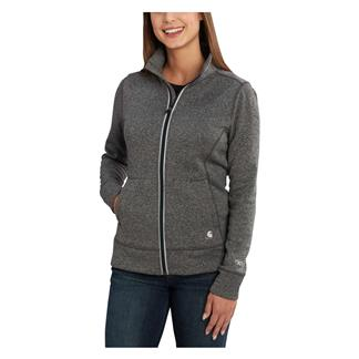 Carhartt Force Extremes Zip Front Sweatshirt Black Heather