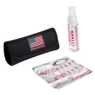 Oakley USA Flag Lens Cleaning Kit Black