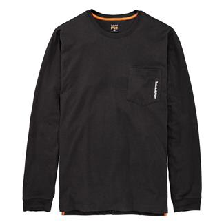 Timberland PRO Base Plate Blended Long Sleeve T-Shirt Jet Black