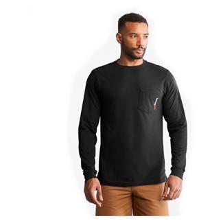 Timberland PRO Base Plate Blended Long Sleeve T-Shirt Jet Black