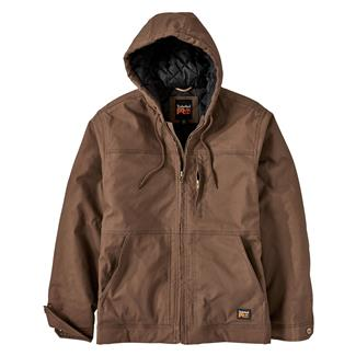 Timberland PRO Baluster Insulated Hooded Work Jacket Dark Wheat