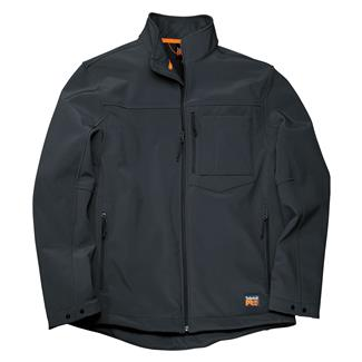 Timberland PRO Power Zip Windproof Softshell Jacket Jet Black