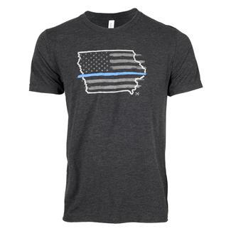 TG TBL Iowa T-Shirt Charcoal Black