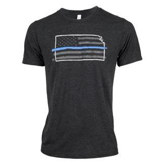 TG TBL Kansas T-Shirt Charcoal Black