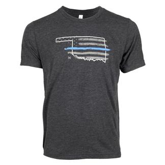 TG TBL Oklahoma T-Shirt Charcoal Black
