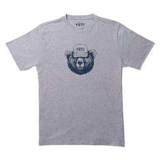 YETI Den Dwellers T-Shirt Gray / Navy