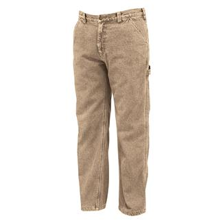 Wolverine Fleece Lined Hammer Loop Pants Khaki
