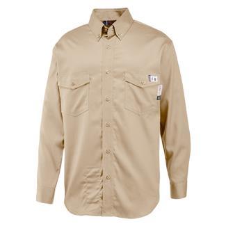 Wolverine FR Twill Shirt Khaki