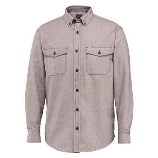 Wolverine Drummond Long Sleeve Flannel Shirt Brown