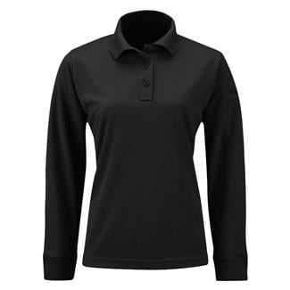 Propper Long Sleeve Uniform Polo Black