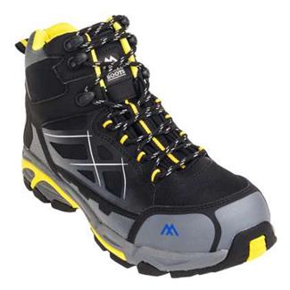 "McRae Industrial 6"" Non-Metallic CT WP Black / Yellow"