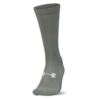 Under Armour Tactical HeatGear Boot Socks Foliage Green