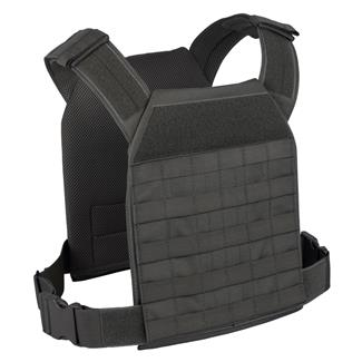 Elite Survival Systems Lightweight MOLLE Plate Carrier Black