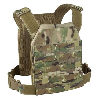 Elite Survival Systems Lightweight MOLLE Plate Carrier MultiCam