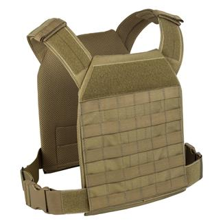 Elite Survival Systems Lightweight MOLLE Plate Carrier Coyote Tan