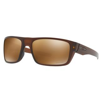 Oakley Drop Point Prizm Matte Rootbeer (frame) - Prizm Tungsten Polarized (lens)