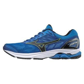 Mizuno Wave Rider 21 Classic Blue / Black / Safety Yellow