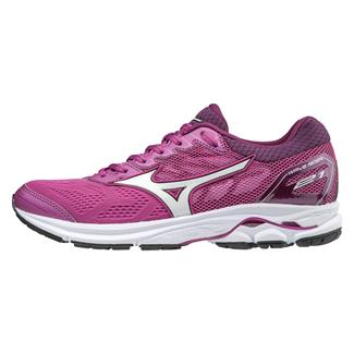 Mizuno Wave Rider 21 Clover / White / Dark Purple