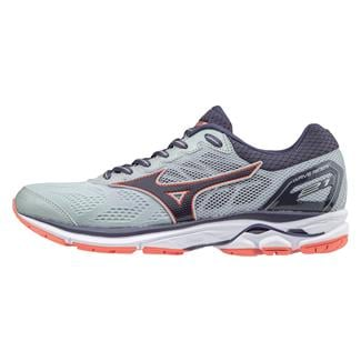 Mizuno Wave Rider 21 High Rise / Graystone / Persimmon