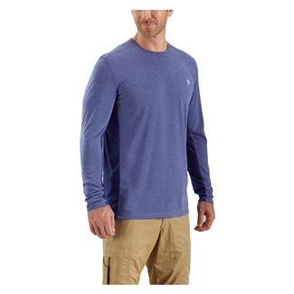 Carhartt Force Extremes Long Sleeve T-Shirt Blueprint Heather / Blueprint