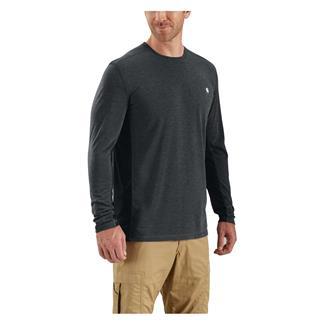 Carhartt Force Extremes Long Sleeve T-Shirt Black / Black Heather