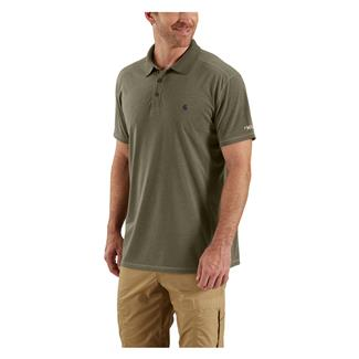 Carhartt Force Extremes Polo Burnt Olive Heather