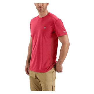 Carhartt Force Extremes T-Shirt Light Crimson Heather / Dark Crimson