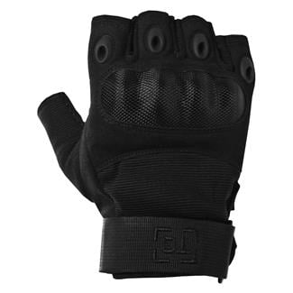 TG Hellfox Fingerless Gloves Black