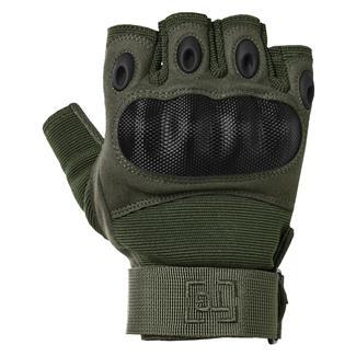 TG Hellfox Fingerless Gloves OD Green