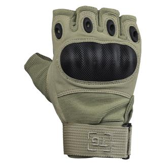 TG Hellfox Fingerless Gloves Desert Tan