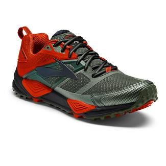Brooks Cascadia 12 Green / Orange / Black