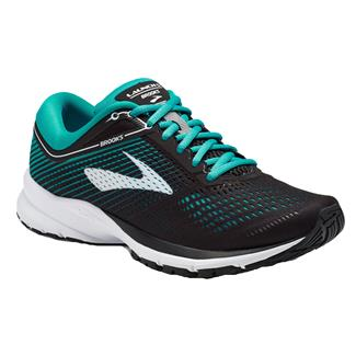 Brooks Launch 5 Black / Teal Green / White