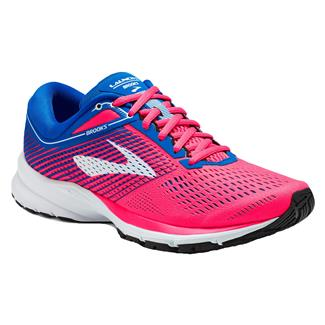 Brooks Launch 5 Pink / Blue / White