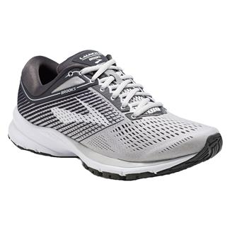 Brooks Launch 5 Gray / Ebony / White
