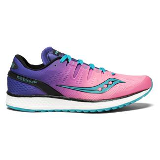 Saucony Freedom ISO Pink / Purple / Teal