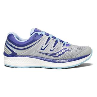 Saucony Hurricane ISO 4 Gray / Blue / Purple