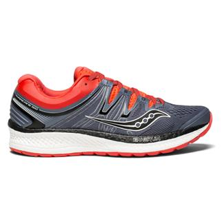 Saucony Hurricane ISO 4 Gray / Black / ViZi Red