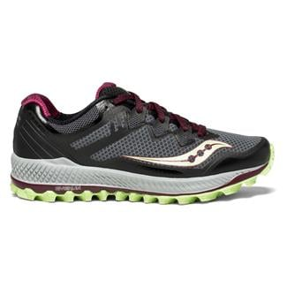 Saucony Peregrine 8 Black / Mint / Berry