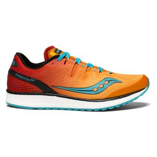 Saucony Freedom ISO Orange / Red / Teal