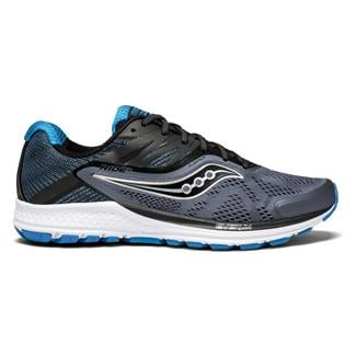 Saucony Ride 10 Gray / Black / Blue