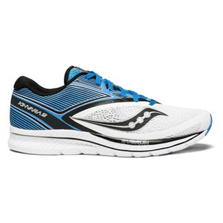 Saucony Kinvara 9 White / Blue / Black