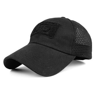 TG Mesh Tactical Cap Black