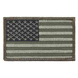 TG American Flag Patch Forest