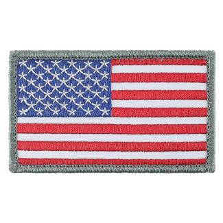 TG American Flag Patch Full / Gray Border