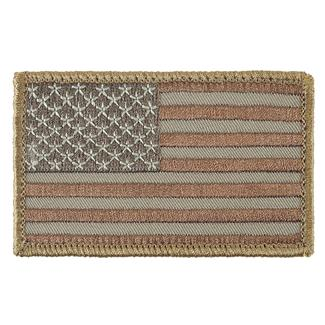 TG American Flag Patch Desert