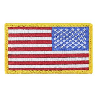 TG American Flag Reversed Patch Full Color Reversed