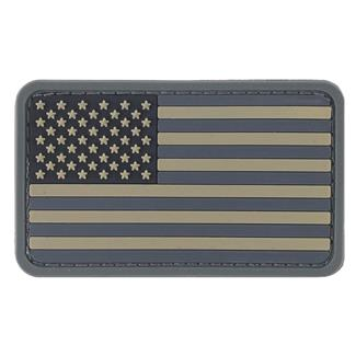 TG American Flag PVC Patch ACU-Dark