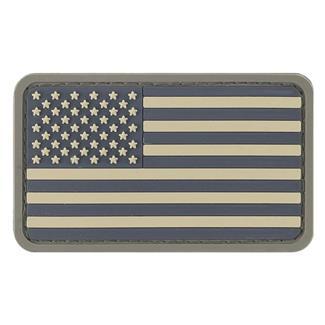 TG American Flag PVC Patch ACU-Light