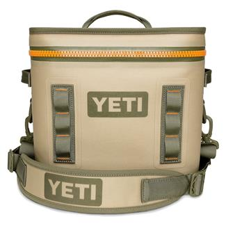 YETI Hopper Flip 12 Field Tan / Blaze Orange
